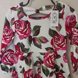 The Children's Place Rose Baby Dress